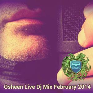 Osheen_Live_DJ_Mix_DISCOTECH / FEBRUARY 2014_ BEATPORT TOP100 CHARTED #17 ON 2014-02-27