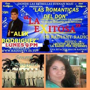 Las románticas del Don con Alex Rodriguez invitados Sonora Boringuen