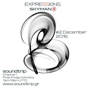 Expressions #002 - December 2016 -Soundtrip Radio 1 - Deep Melodic Moods