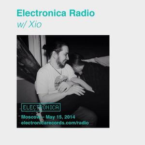 Xio - Electronica Radio, Moscow – 15.05.2014