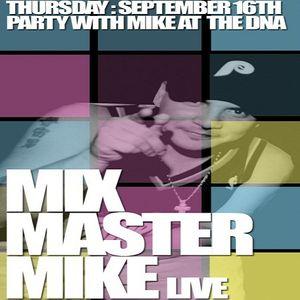Mixmaster Mike (Beastie Boys DJ) @ DNA Lounge San Francisco - 16.09.2004