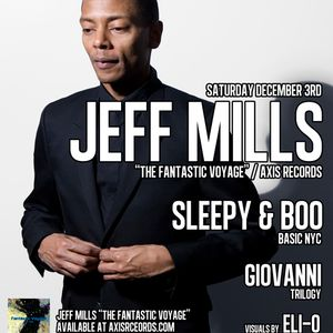 """Giovanni """"Open Dj Set for Jeff Mills"""" NYC/2011 @ (le) Poisson Rouge"""
