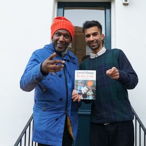 Haseeb Iqbal with Lemn Sissay // 08-11-20