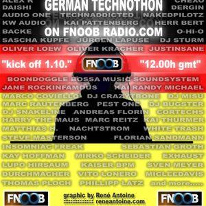 AlexR. - for German Technothon @ Fnoob Radio