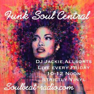 25.03.2016 ALL VINYL Funk Soul Central Show Jackie Allsorts AKA Daddyvinyl