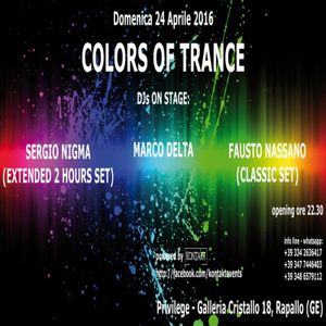 Marco Delta @ Colors Of Trance - Privilege - Rapallo (GE) - 24.04.2016