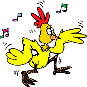 The dance of the FUNKY CHICKEN at the Mainfloor