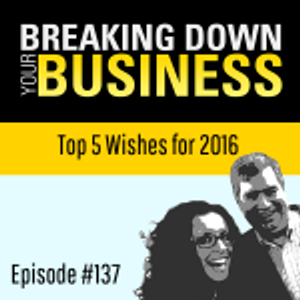 No Wishing For Wishes | Top 5 Wishes for 2016 | Ep. 137 | Small Business | Entrepreneur | Leadership