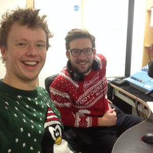 Webster and House Live On BURST Radio - Christmas BONANZA (With Christmassy low quality audio)