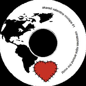 valentine mix#1 corazones rojos around the world