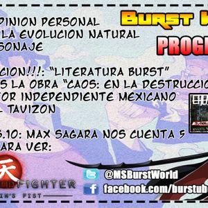 Burst World S2 - Programa Nº10 - Evolución natural de Anime, LB: CaosD, #5Razones Street Fighter AF