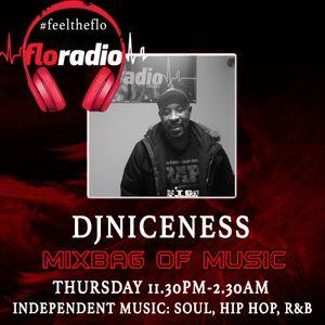 #MixbagofMusic Show #DJNiceness on floradio  23-11-17 (Independent Music: Soul, Hip Hop, R&B)