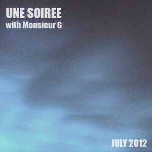 Une Soirée with Monsieur G #July 2012#