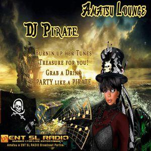 DJ Pirate LIVE on ENT SL RADIO from Amatsu Lounge 7/29/2017