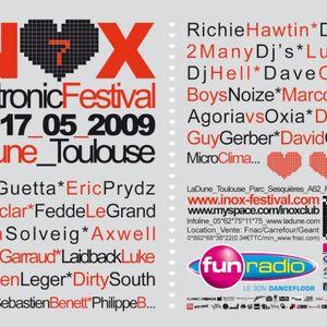 Sébastien Léger - Live @ Inox Electronic Festival 2009 Toulouse (France) 2009.05.17.