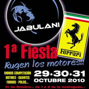 Hugo V @ Live at Fiesta Ferrari at Jabulani (Villablino, Leon) 30-10-2010