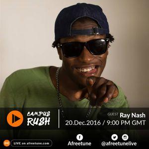 Campus Rush Dec 20 | #Afreetune #Radio | afreetune.com
