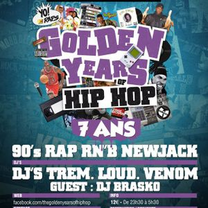 DJBRASKO / GOLDEN YEARS OF HIPHOP / 7 ANS / MIX 2