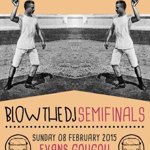 Evans Gougou @ Blow the DJ 2014 semifinals/PH2