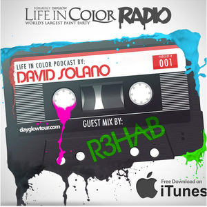 Life In Color Radio Ep 01 - David Solano w/ Guest Mix from R3hab