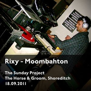 Rixy Live at The Sunday Project, The Horse & Groom Shoreditch 18.09.2011
