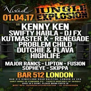 DJ Problem Child - Jungle Explosion Warm-Up On Fright Night Radio 31.3.2017