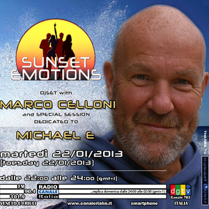 SUNSET EMOTIONS 019.4 (22/01/2013) - Special Session dedicated to MICHAEL E