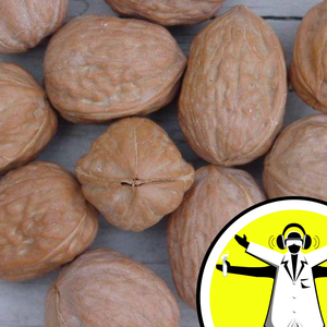 Why did a Laser Make My Nuts Glow?