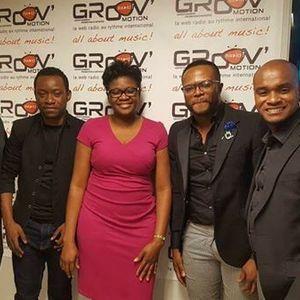 Allo gospel  - 2017- 25-06 - Lyns Jean-Pierre et Beldjin,le coach Williams Jeni Nsongolo et  Marley