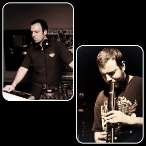 DJ Tony Haze & Sean Weber on Saxophone, Ewi & Vocoder @ Bitter End November 2012 - part 2