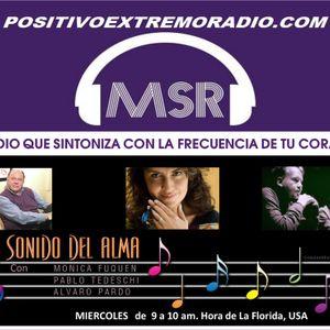 SONIDO DEL ALMA CON MONICA FUQUEN, PABLO TEDESCHI ,ALVARO PARDO   -01-18-17-