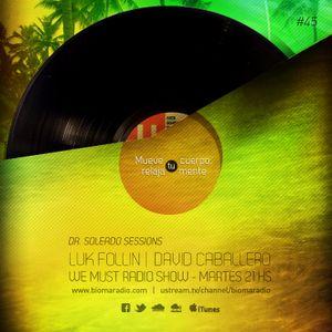 We Must Radio Show #45 - Dr. Soleado Sessions - Luk Follin - djset