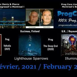 Dream Aria / Lighthouse Sparrows & Illuminae.