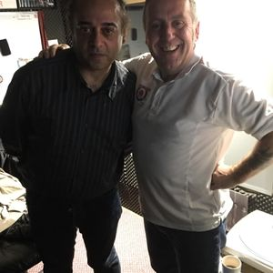 Cookie and Andy interviews Sam Qureshi live on Target Radio