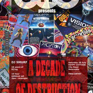 DJ Smurf - A Decade Of Destruction. Part 3 of 9