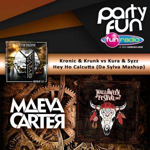 "Da Sylva mashup ""Hey Ho Calcutta"" supported by Maeva Carter @ Halloween Festival on Fun Radio"