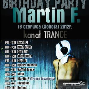KaMM TraXX - Martin F B-Day Trance