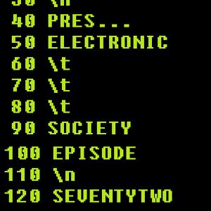 BURREISHON Presents... Electronic Society Podcast - Episode 72