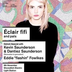Eddie Fowlkes @ Detroit Special - LEAF 2013 London (09-11-2013)