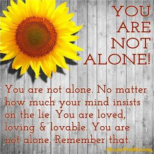 SUPPORT FOR CARE GIVERS - YOU ARE NOT ALONE