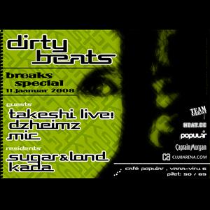 Lond @ SugaR - Dirty Beats Breaks Special (2008)