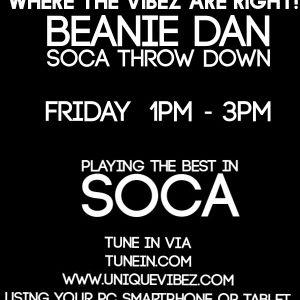 Beanie Dan soca throwdown show 20 05 2016