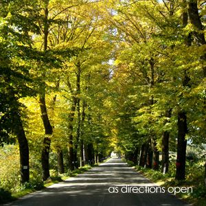 as directions open