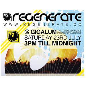 Regenerate Summer 2011 Mix - FlatLau