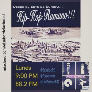 #Fnk Emisión #66 #Bucarest 9/Noviembre/2015 @BabalooRB @UniEstereo882 #TrianguloHH #Rumania