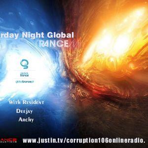 dj archy sat night global trance 11th august 2012