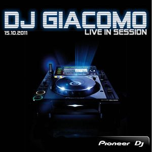 DJ Giacomo live in Session 15.10.11