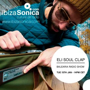 BALEARIA RADIO SHOW HOSTED BY  ANDY WILSON WITH ELI SOUL CLAP _15TH JAN 2019