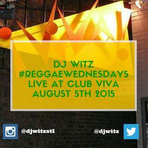 Dj Witz - Live Reggae mix at Club Viva August 5th