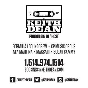 KEITH DEAN - BIRTHDAY PROMO CD (TONIC)